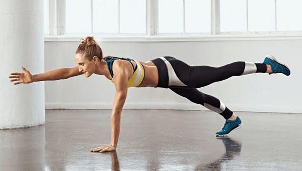 women doing a workout