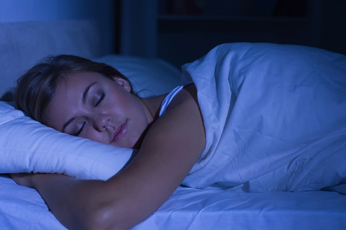 get a good night sleep to get rid of sleepy eyes