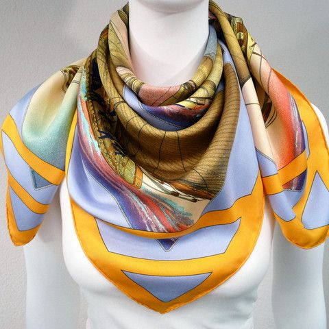 Wrap around the neck (No Knot)