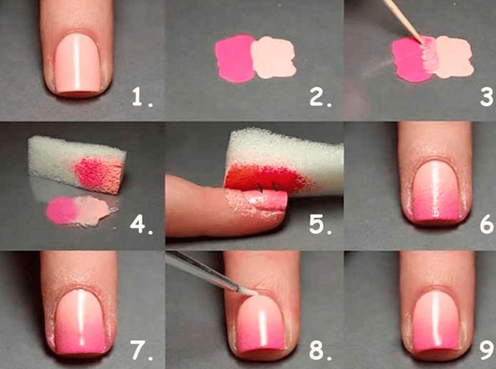 how to make ombre nails