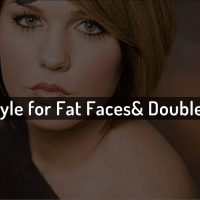 best short hairstyle for fat faces and double chins