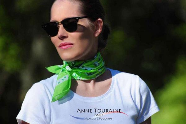 How to Wear Bandana around your neck