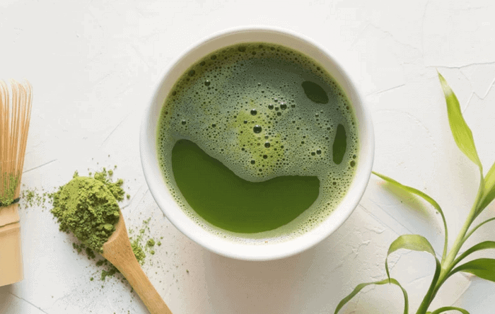use grean tea for pimples