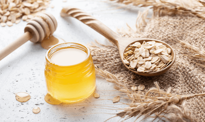 oatmeal and honey for pimples