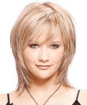 Short Length Fusion Bob Cut - Best Short Hairstyle for Women with Fat Face and Double Chin