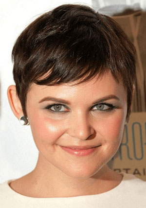 Very Short Haircut - Best Short Hairstyle for Women with Fat Face and Double Chin