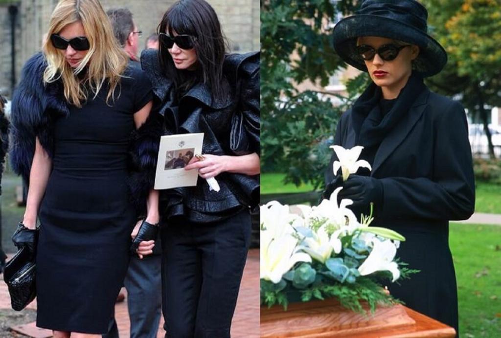 Long Black Dress for funeral