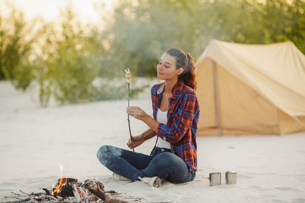 Camping as a hobby