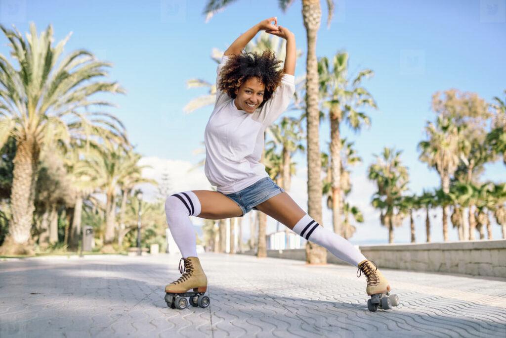 Roller skating as a hobby