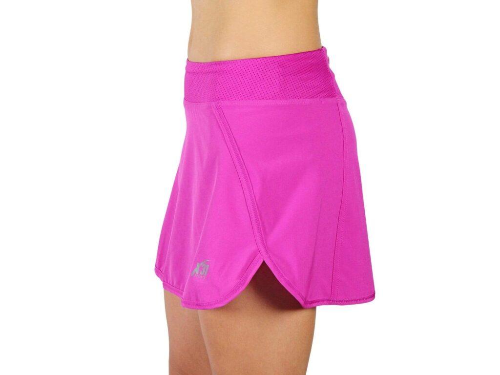 Lightweight running skirt with pockets