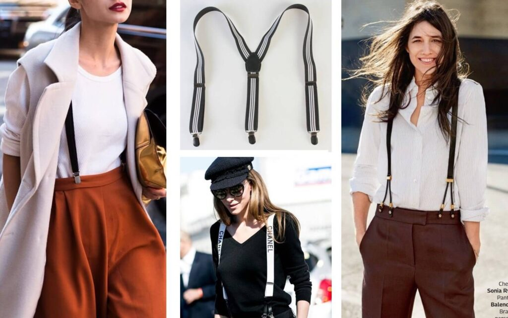 How girls can style up with suspenders