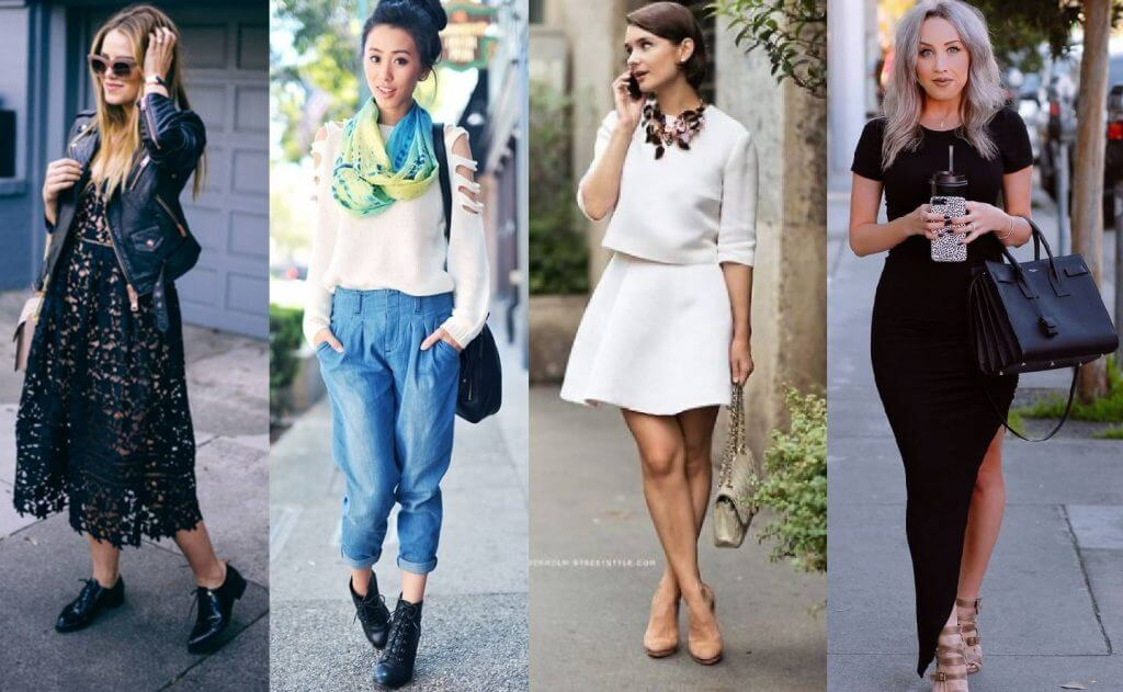 Wear something cute and feminine on your first date.