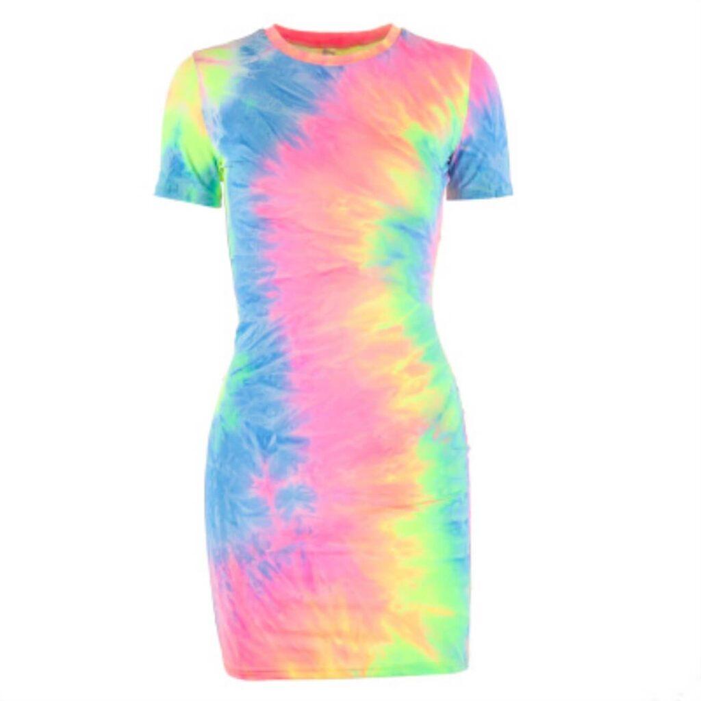 Rainbow dress for Pride
