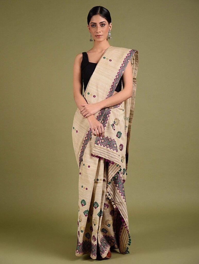 Mekhala Chadar saree style