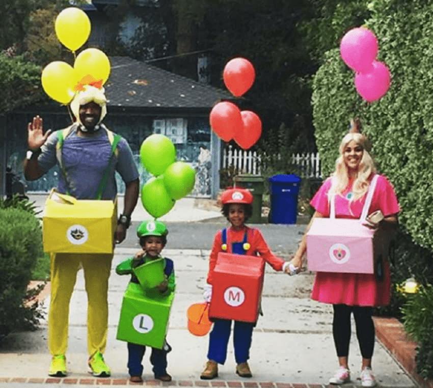 DIY Hot Air Balloon Halloween Costume