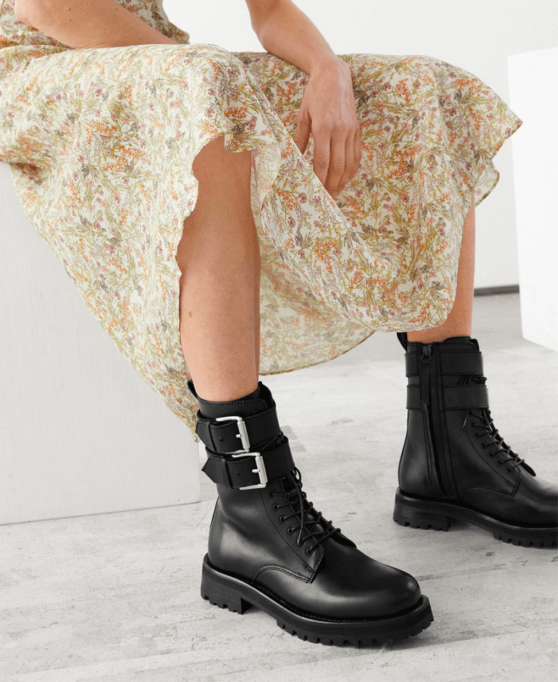 Combat Boot for fall