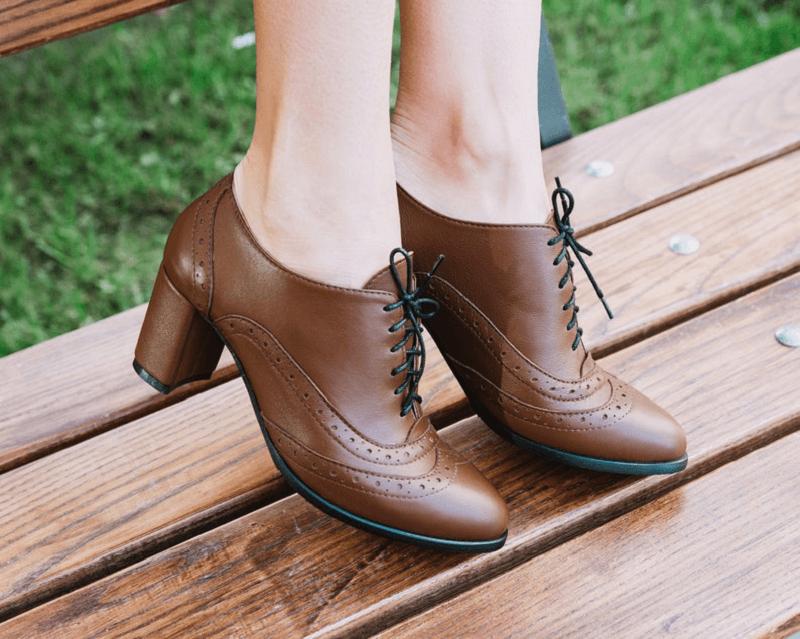 Cuban heels boot for fall