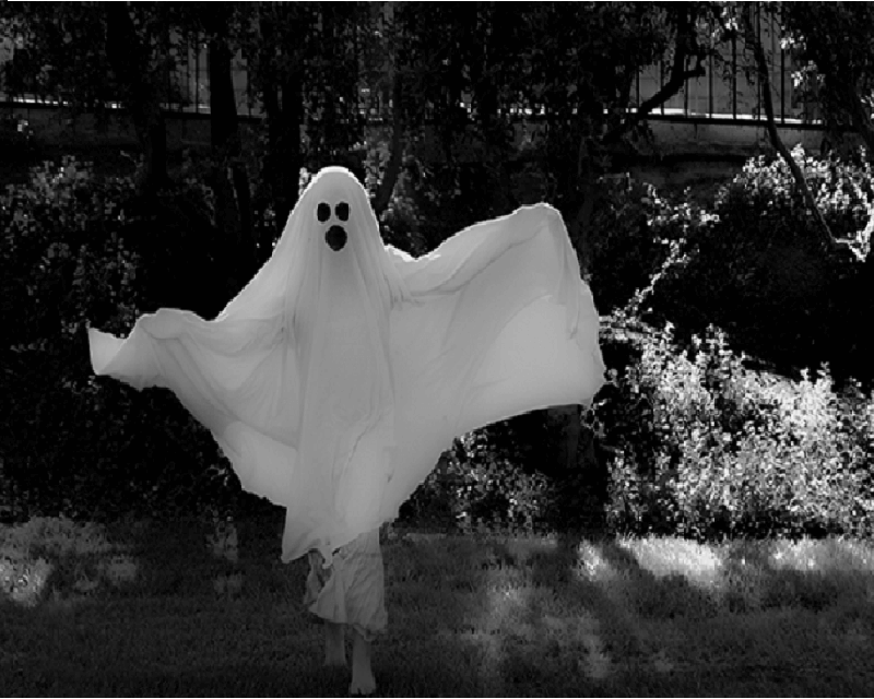 ghost costume diy2